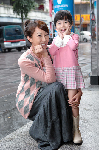 An Zhen and Daughter Yu Meng