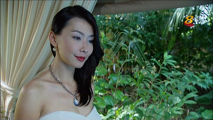 Sexy Ann Kok in Tank Top