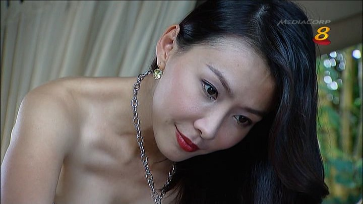 Sexy Ann Kok Bent in Tank Top