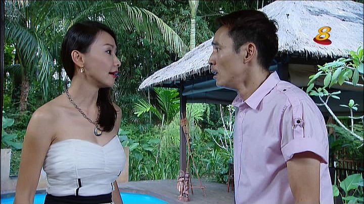 Beautiful Ann Kok in Tank Top