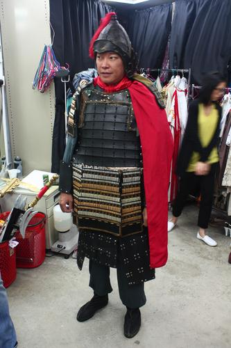 Bountiful Blessings Actor in Ancience Costume