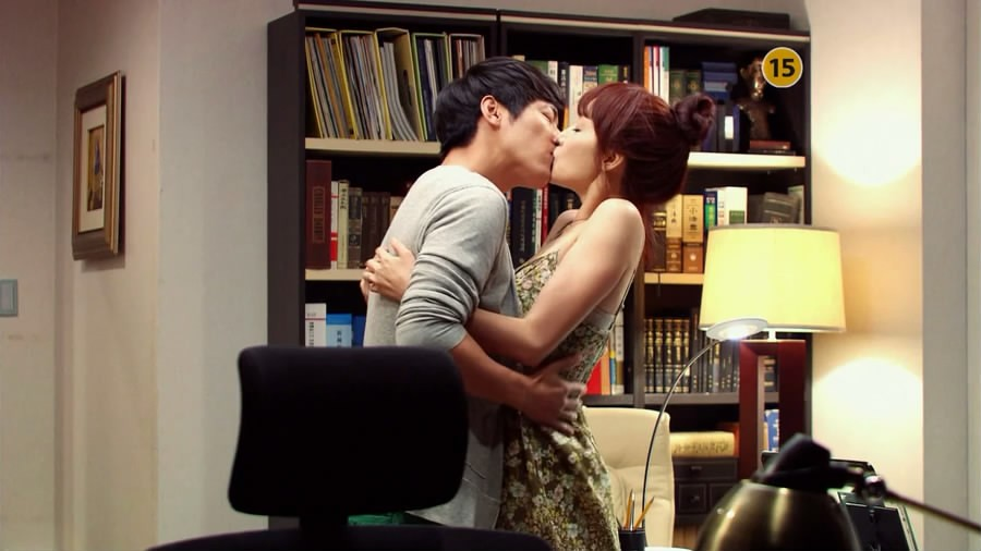 Scene Capture from Can't Lose Trailer - Kissing
