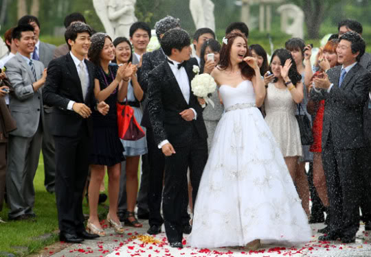 Can't Live with Losing - Yoon Sang Hyun and Choi Ji Woo Wedding