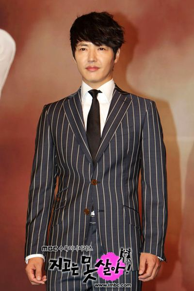 Yong Sang Hyun at Can't Live with Losing Press Conference