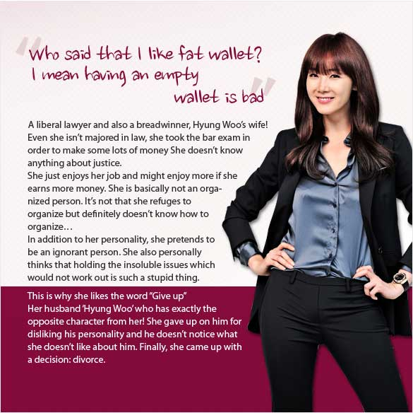 Choi Ji Woo Character in Can't Live with Losing