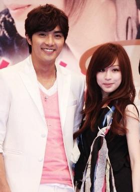 Cyndi Wang and Mike He