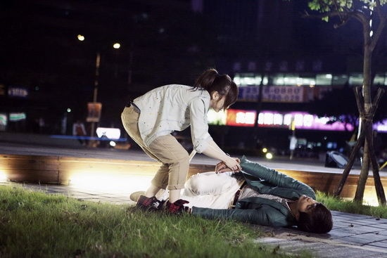 Scene from Love Keeps Going