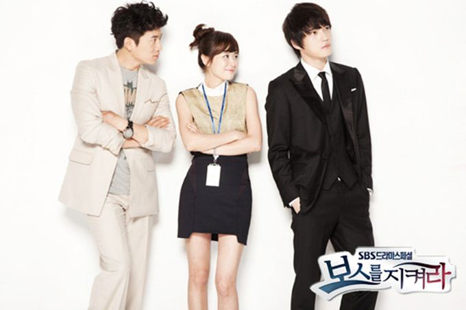 Protect the Boss Funny Poster