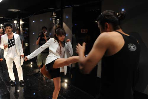 Choi Kang Hee Action Scene in Protect the Boss