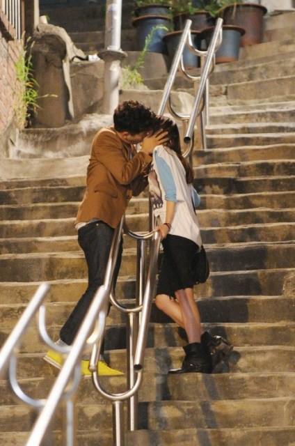 Protect the Boss Ji Sung and Choi Kong Hee Kiss
