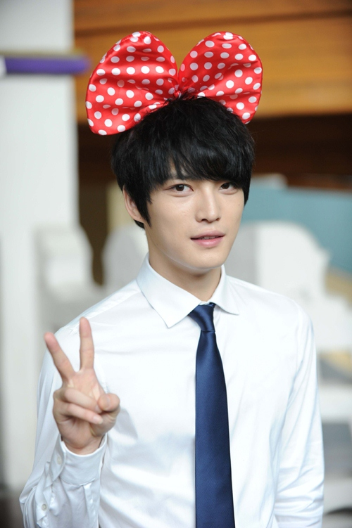 Kim Jae Joon with Headband to Wish Protect the Boos