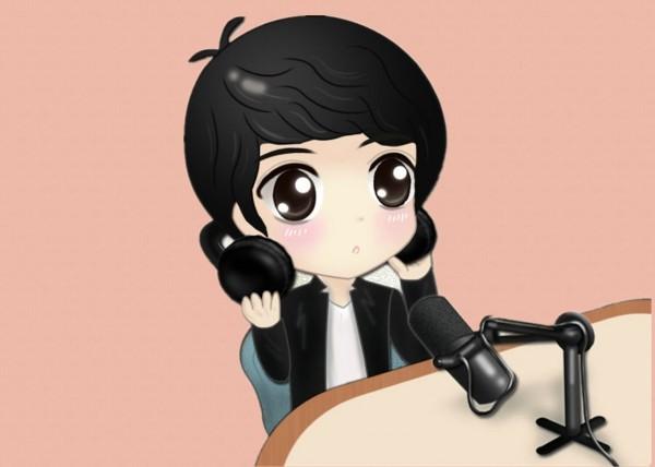 Kim Jae Joong Q Cartoon Wallpaper