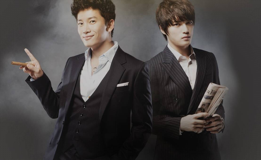 Ji Sung and Jae Joong