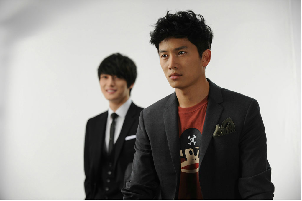 Protect the Boss Scene