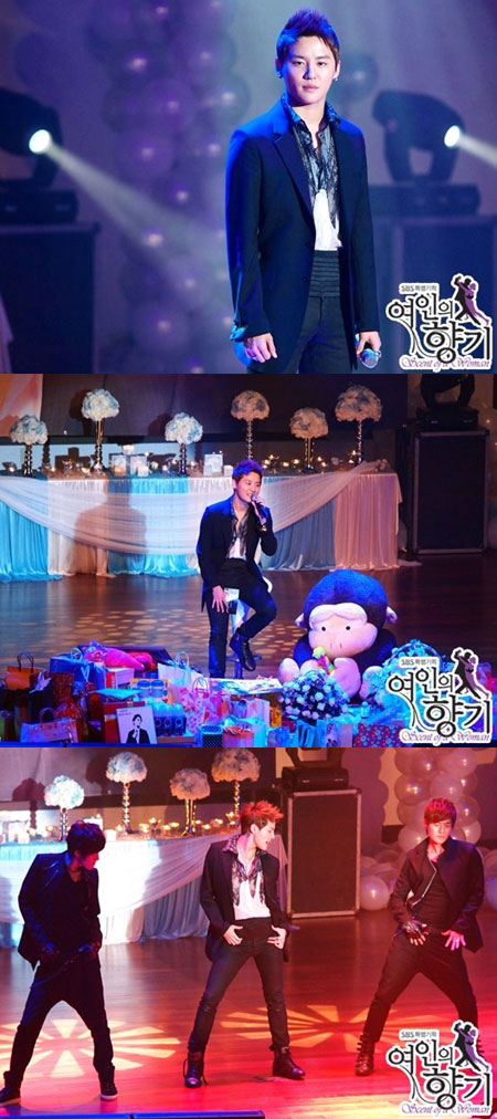 Scent of a Woman Kim Junsu Concert