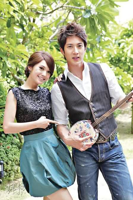 Rainie Yang and Wu Chun