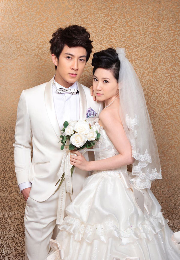 Wu Chun and Liu Zi Yan in Bridal Dress