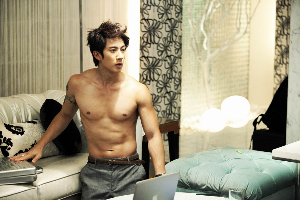 Wu Chun Bare Chest