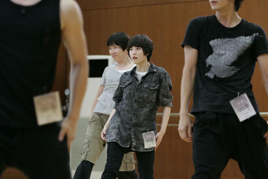 Go Eun Bi Pretends as Guy Dance in Audition