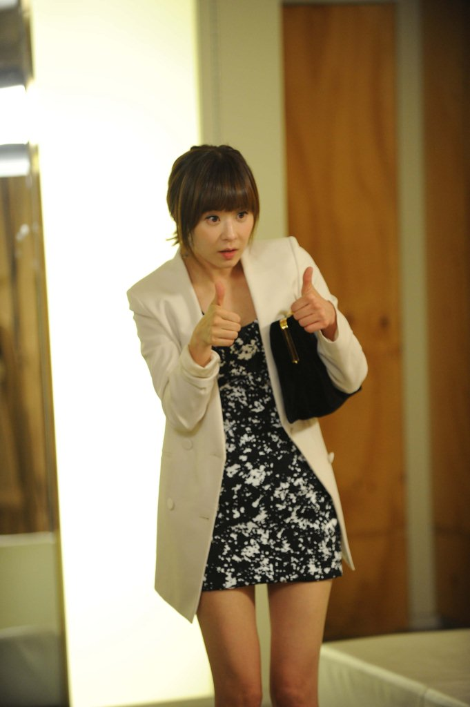 Choi Kang Hee Tries New Clothes