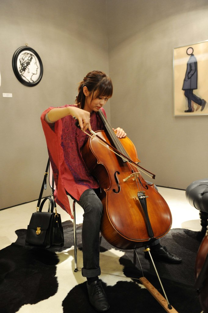 Choi Kang Hee Trains Violin