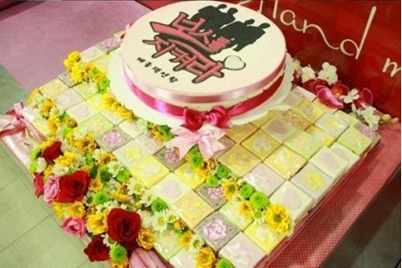 Protect the Boss Party Cake