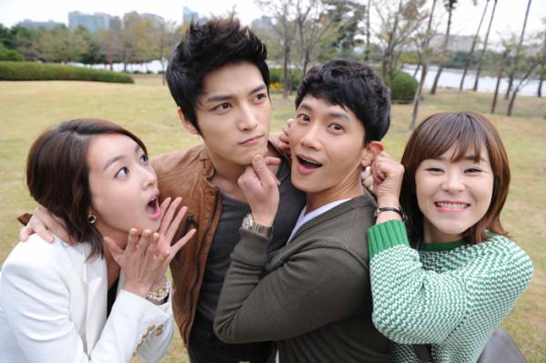 Ji Sung and Choi Kang Hee, and Kim Jae Joong nd Wang Ji Hye Happy Dating
