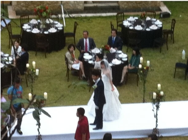 Ji Hun and Eun Sul Wedding - Behind the Scene