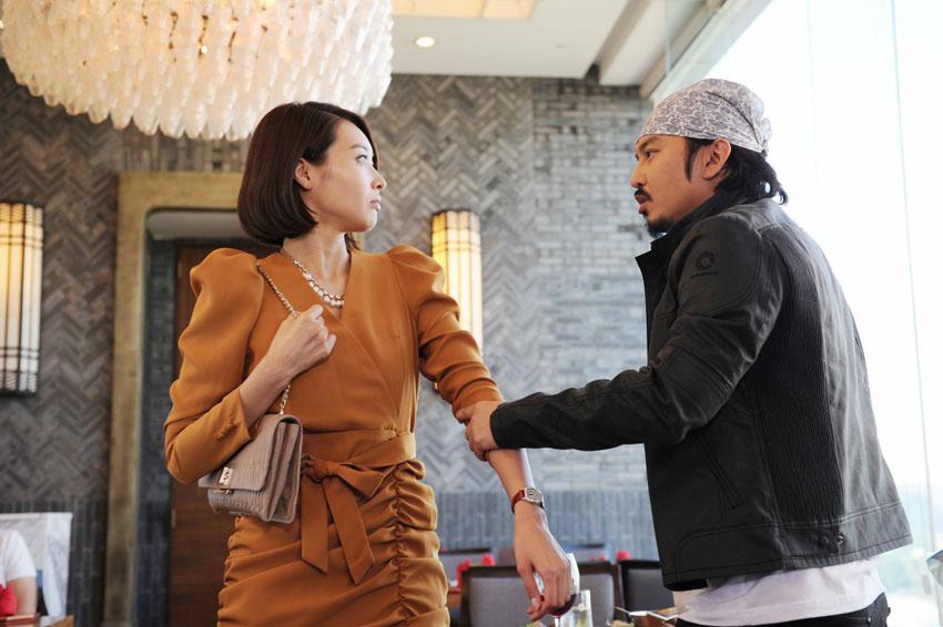 Wang Ji Hye and Yoon Ki Won