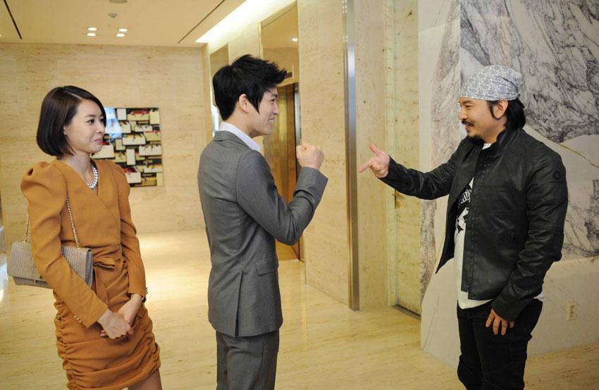 Kim Jae Joong, Wang Ji Hye and Yoon Ki Won