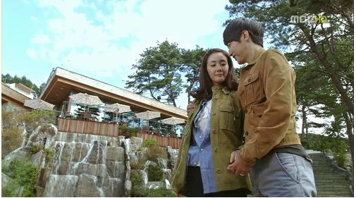 Yoon Sang Hyun and Choi Ji Woo at Resom Forest Resort