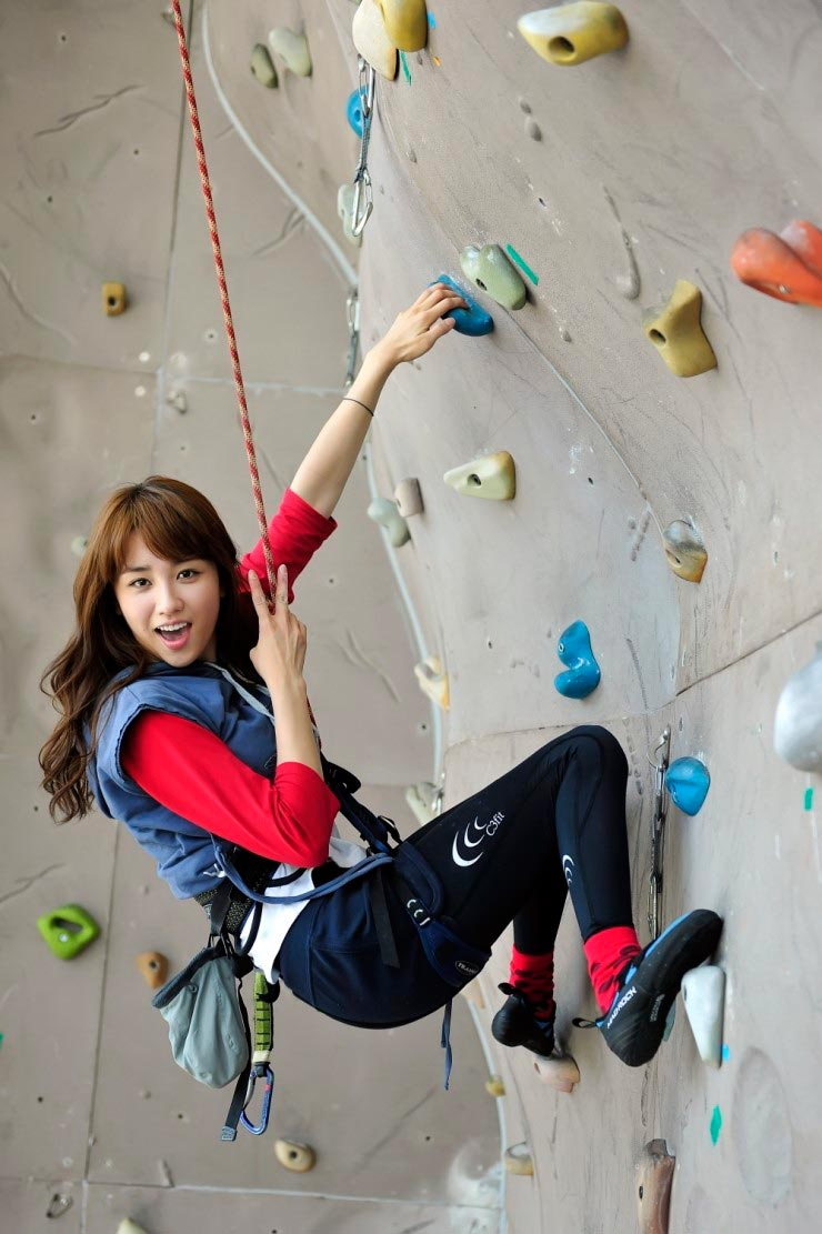 Park Ha Sun Rock Climbing
