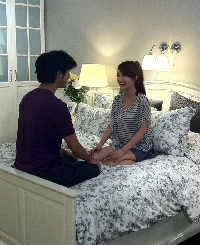 Ariel Lin and Bo Lin Chen Intimate Scene