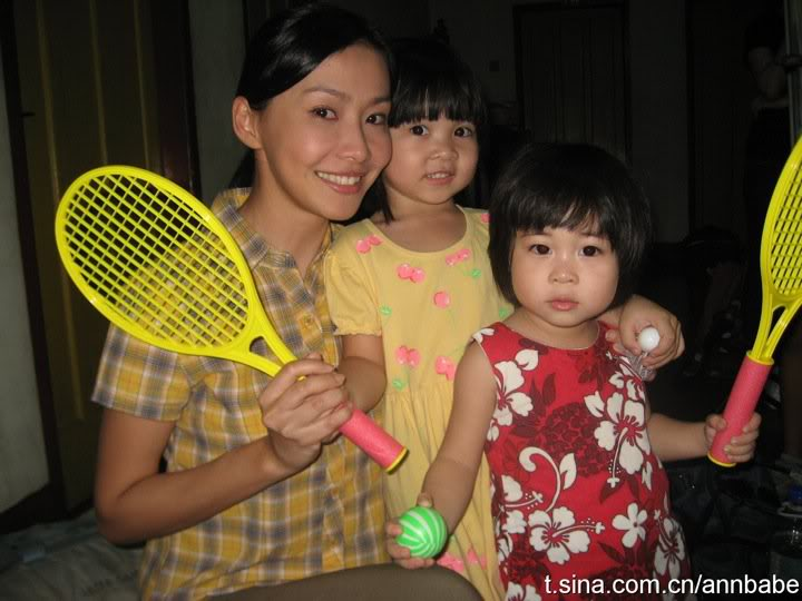 Ann Kok with Daughters in the Drama