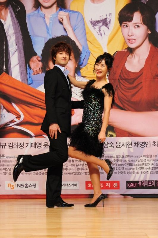 Oh Dae Gyu and Kim Hee Jung
