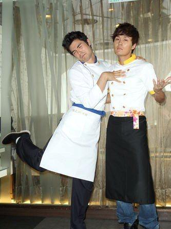Kenji Wu and Rhydian Vaughan