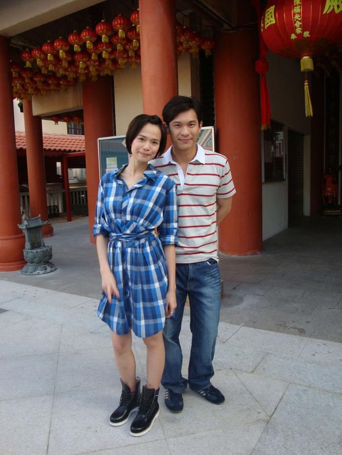 Felicia Chin and Shaun Chen