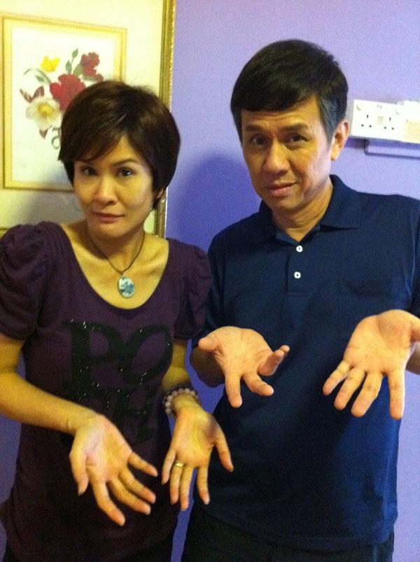 Huang Wen Yong and Lin Mei Jiao