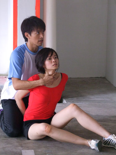 Felicia Chin Attacked by Pervert