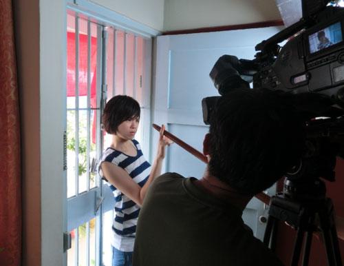 Felicia Chin Behind the Scene