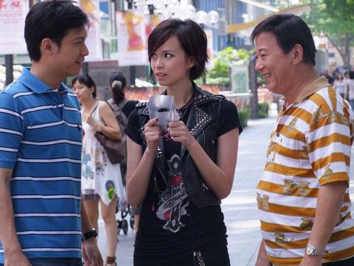 Felicia Chin, Ha Yu and Shaun Chen