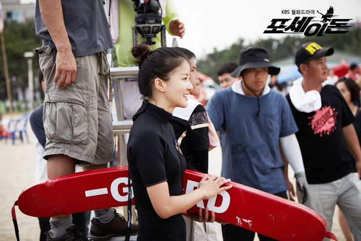 Lee Si Young Rescue Behind the Scene