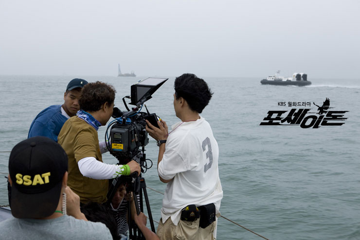 Poseidon Behind the Scene