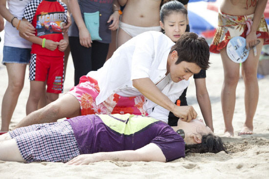 Choi Si Won CPR Rescue