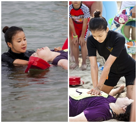 Li Si Young Rescue Scene