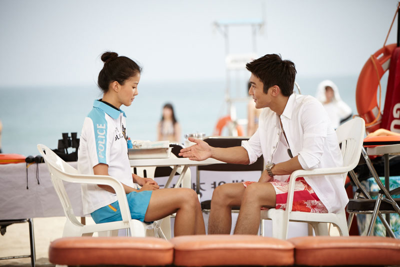 Choi Siwon and Lee Shiyoung