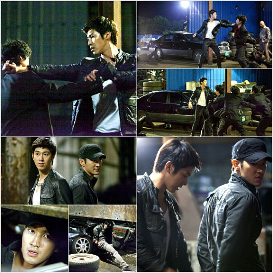 Choi Si Won and Jung Yun Ho in Poseidon
