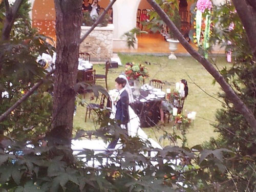Protect the Boss Behind the Scene - Wedding