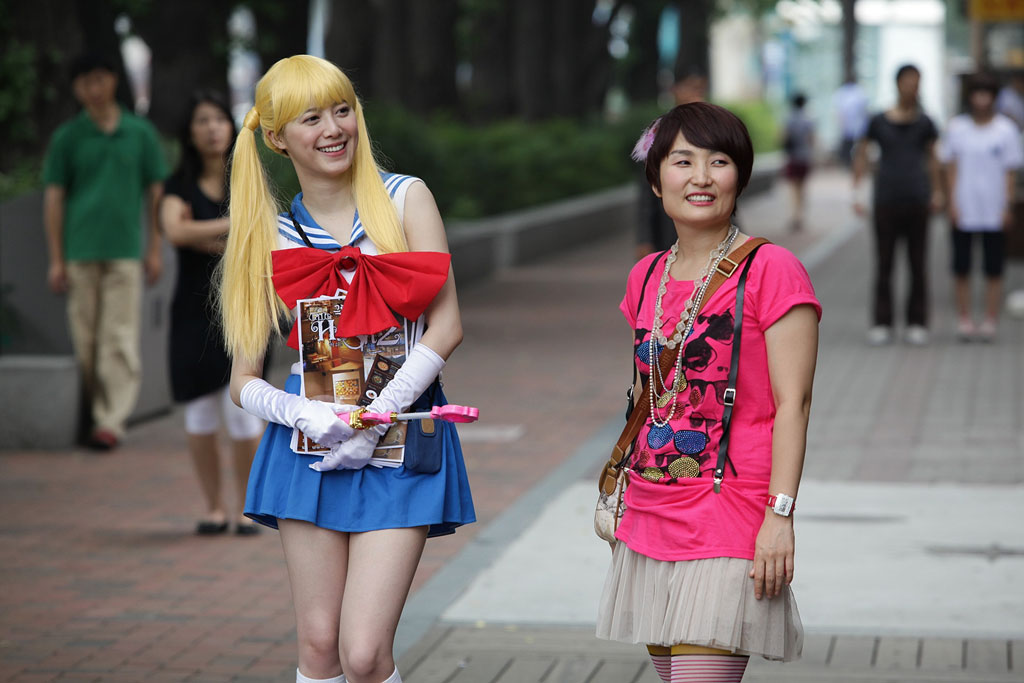 The Making of Sailor Moon Cosplay Scene