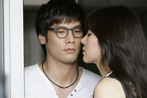 Kiss of Daniel Choi and Ock Joo Hyun